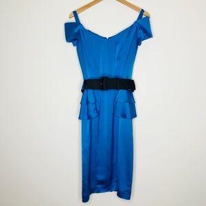 NWOT Blue Reiss Dress Size 4
